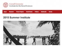 Cornell summer institute 2015
